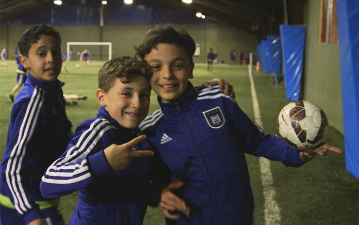 Anderlecht Youth - Loving the Game!