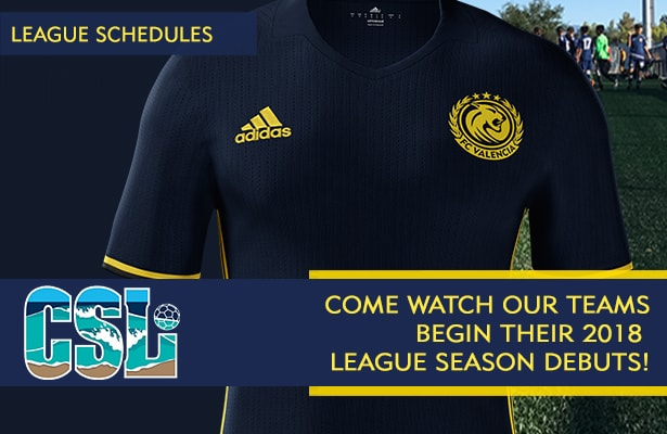 2018 Coast Soccer League