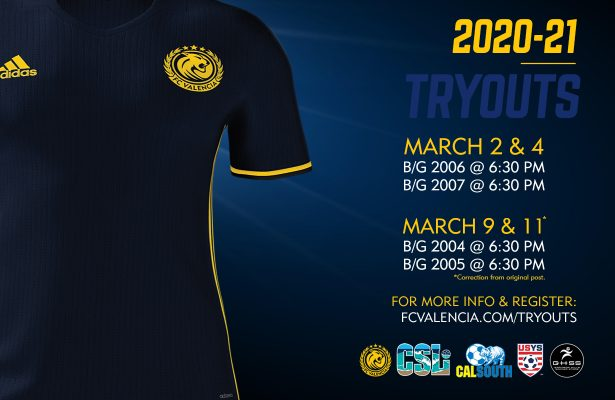 FC Valencia Tryouts - Olders